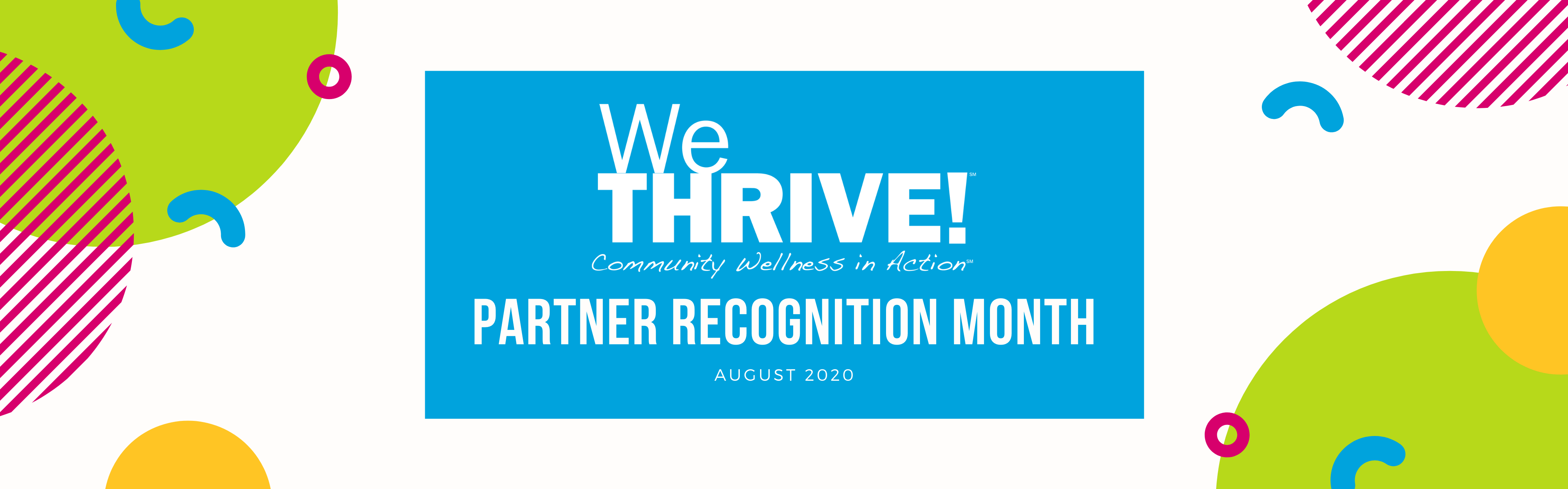Reads We Thrive Partner Recogniition Month August 2020